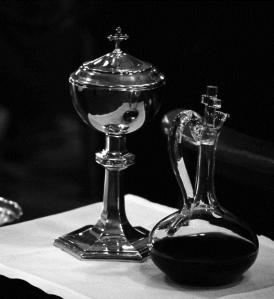 chalice and ciborium